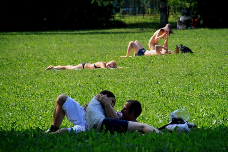 секс на природе иностранное видео обменялись